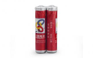 三圈电池七号碳性干电池-2只简装